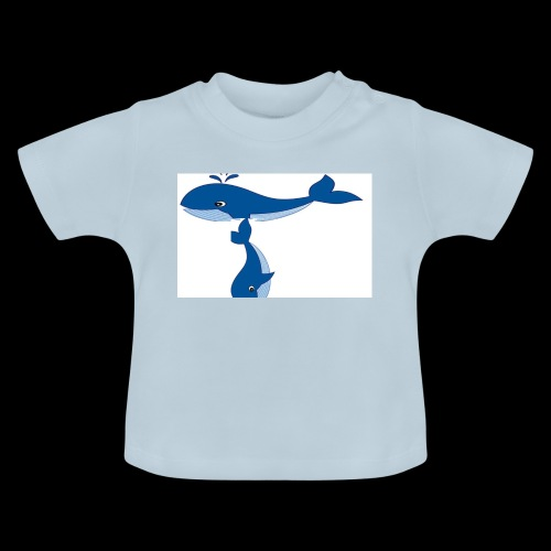 whale t - Baby T-Shirt