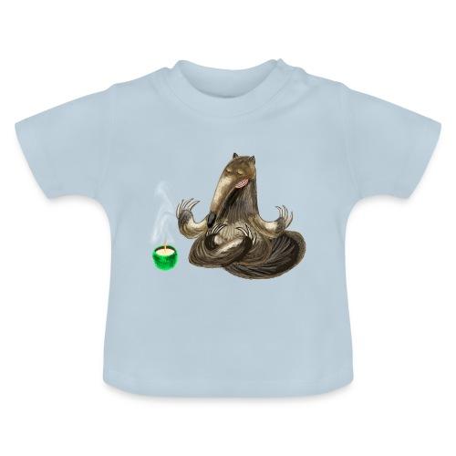 Meditating Ant eater design / print - Baby T-Shirt