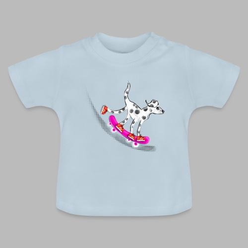 Spotty Skateboarder - Baby T-Shirt