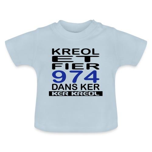 974 ker kreol - Kreole et Fier - T-shirt Bébé