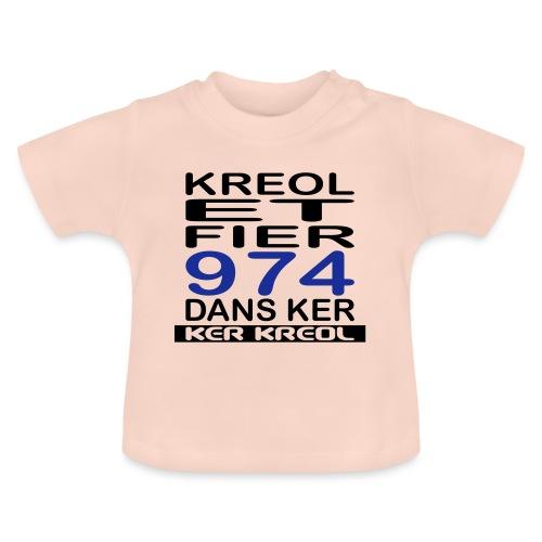 Kreol et Fier - 974 ker kreol - T-shirt Bébé