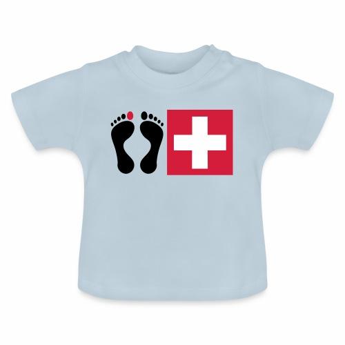 Barfussschweiz - Swiss-Collection - Baby T-Shirt