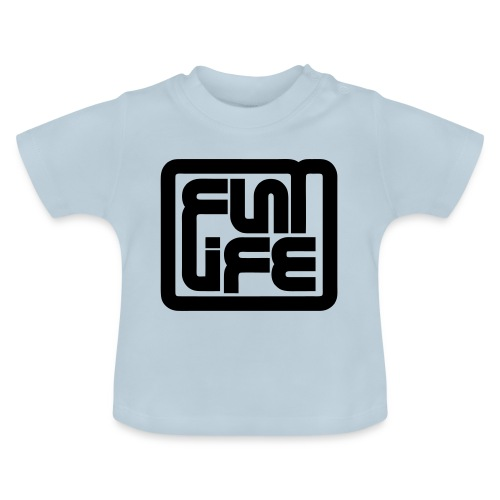 Flatlife Records BLACK - Baby T-Shirt