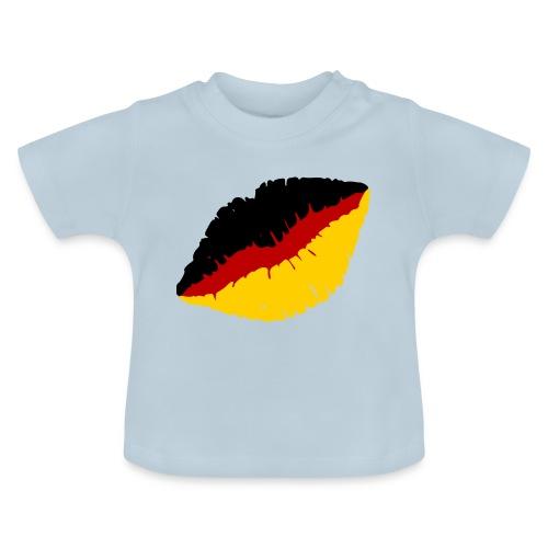 Deutschland Lippen Motiv - Baby T-Shirt