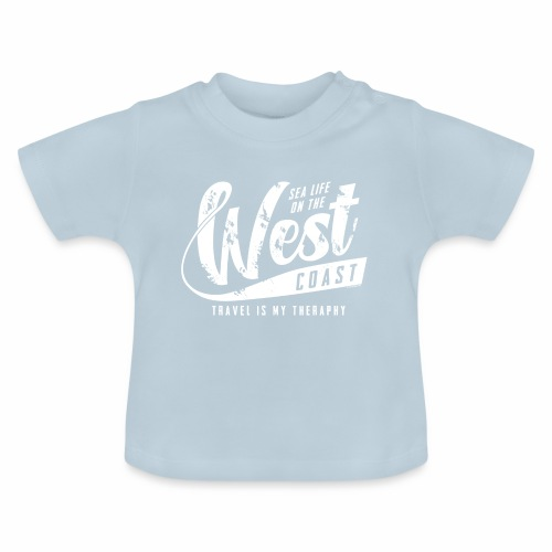 West Coast Sea surf clothes and gifts GP1306A - Vauvan t-paita