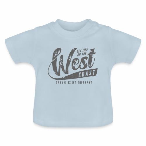West Coast Sea surf clothes and gifts GP1306B - Vauvan t-paita