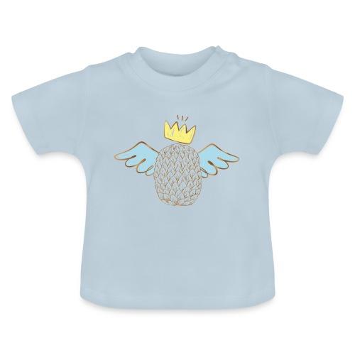 Piña con Alas Gold - Camiseta bebé