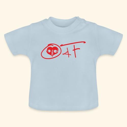 O4F ROSSO - Maglietta per neonato