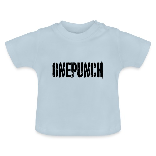 Boxing Boxing Martial Arts mma tshirt one punch - Baby T-Shirt