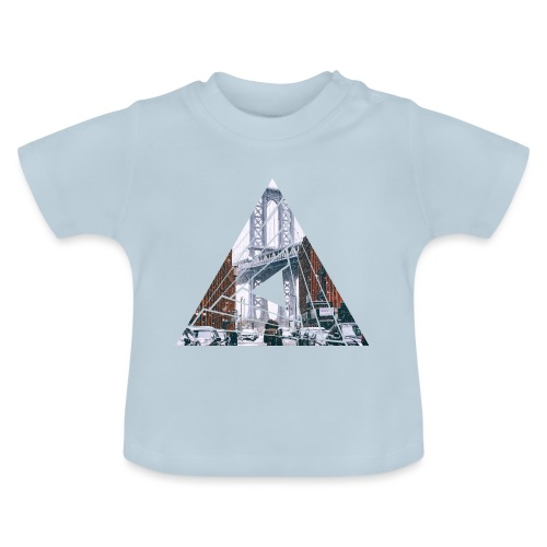 Manhattan Bridge of Brooklyn New York City - Baby T-Shirt