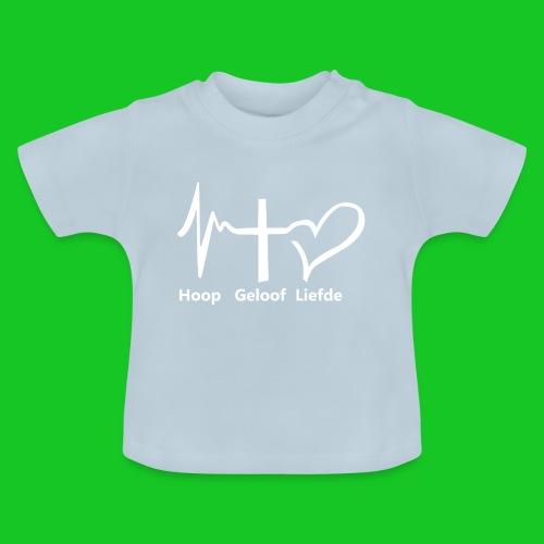 Hoop geloof en liefde - Baby T-shirt