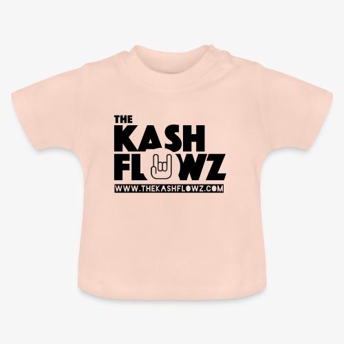The Kash Flowz Official Web Site Black - T-shirt Bébé