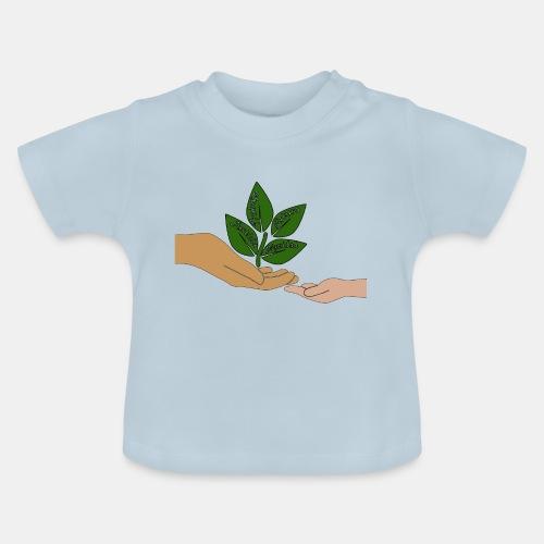 Manos Arbol - Camiseta bebé
