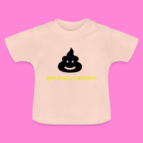 Mannetje Poep Shit - Baby T-shirt