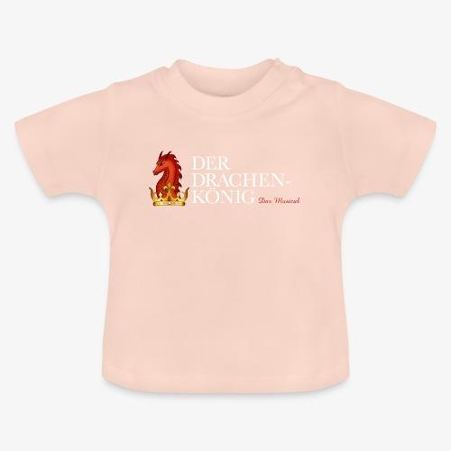 Drachenkönig Logo Schrift - Baby T-Shirt