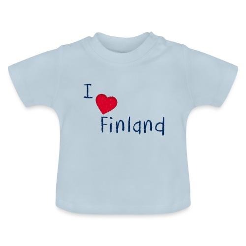 I Love Finland - Vauvan t-paita