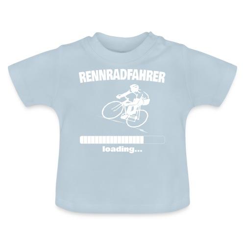 Rennradfahrer loading... Baby Motiv - Baby T-Shirt
