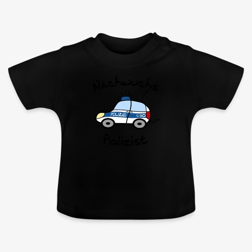 Nachwuchs Polizist - Baby T-Shirt
