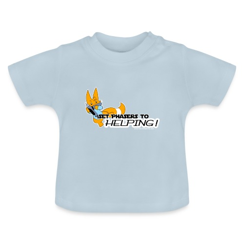 Set Phasers to Helping - Baby T-Shirt