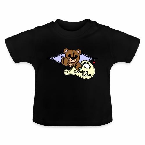 Bärchen Coming Soon - Baby T-Shirt