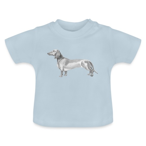 Dachshund smooth haired - Baby T-shirt
