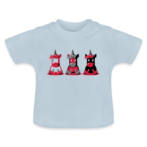 Angry Unicorn - Baby T-Shirt