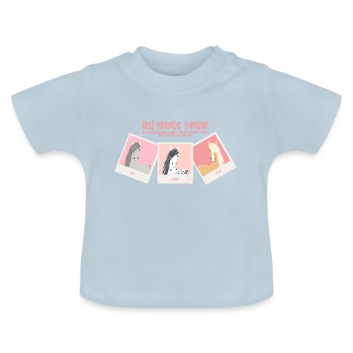 Best horse friends forever - Baby T-Shirt