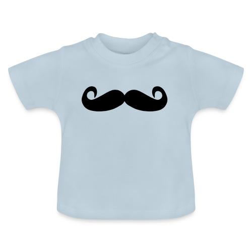 mostacho - Camiseta bebé