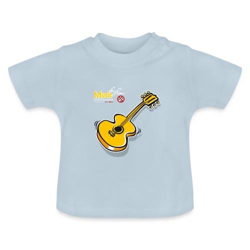 MusicForFun - dunkler Hintergrund - Baby T-Shirt