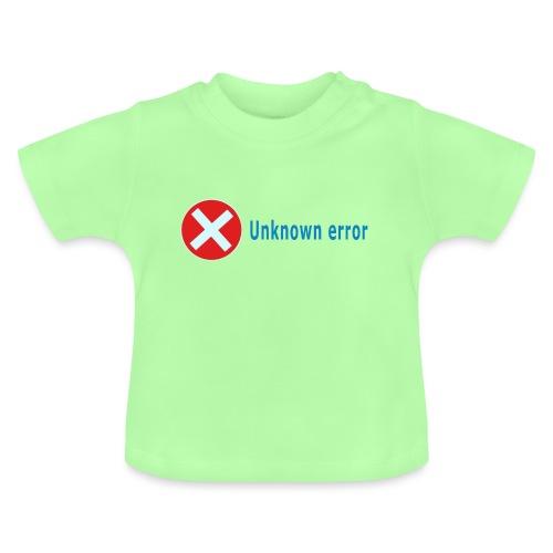 Unkown Error - Vauvan t-paita