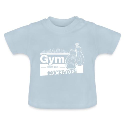 Gym Druckfarbe weiss - Baby T-Shirt