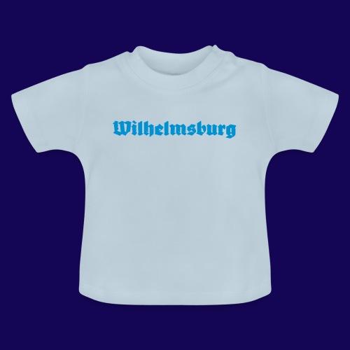 Wilhelmsburg Fraktur-Typo: Die Hamburger Elbinsel! - Baby T-Shirt