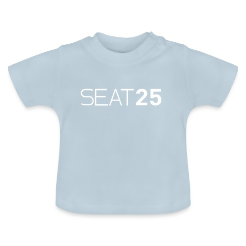 Seat25 Logo Light - Baby T-Shirt