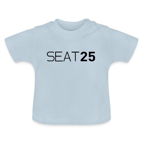 Seat25 Logo Dark - Baby T-Shirt