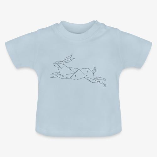Hase geometrie, Tier geometrisch - Baby T-Shirt