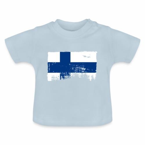 Suomen lippu, Finnish flag T-shirts 151 Products - Vauvan t-paita