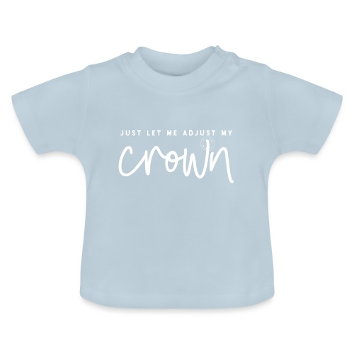 Crown white - Baby T-Shirt