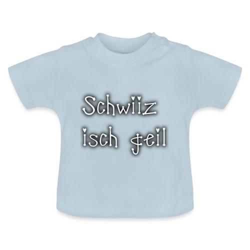 Schweiz ist geil png - Baby T-Shirt