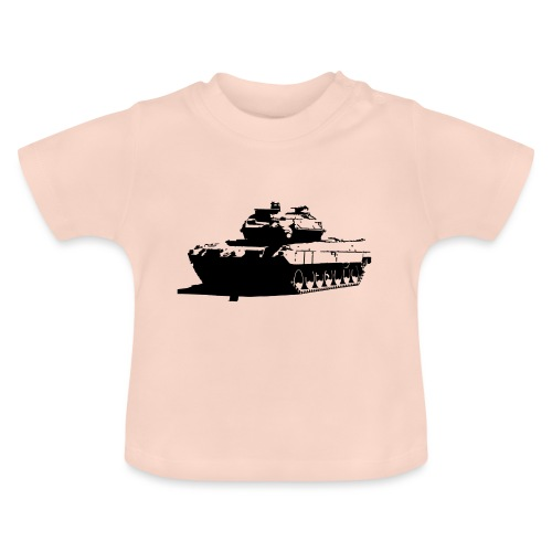 Leopard 2 Kampfpanzer - Stridsvagn 122 - Baby-T-shirt