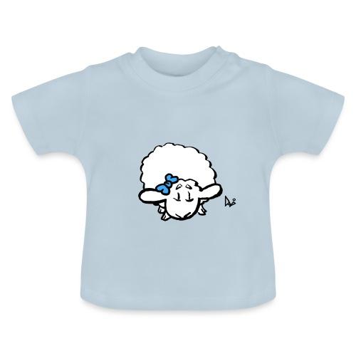 Vauvan karitsa (sininen) - Vauvan t-paita