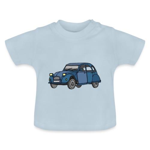 Blaue Ente 2CV - Baby T-Shirt