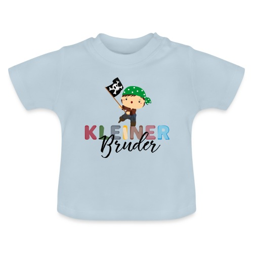 Kleiner Bruder Piraten - Baby T-Shirt