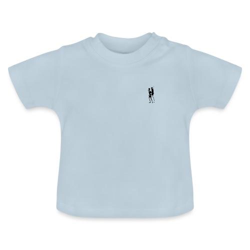 Two People Walking - Baby T-shirt