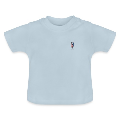 2 People Walking Isolated - Baby T-shirt