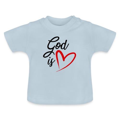 God is love 2N - Maglietta per neonato