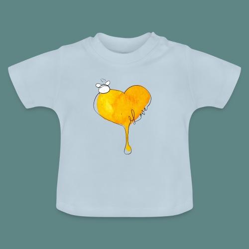 Heart Bee LOVE - T-shirt Bébé