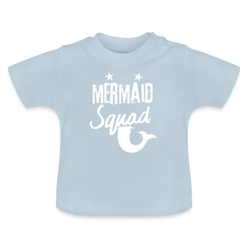 Meerjungfrau-Trupp-Kader - Baby T-Shirt