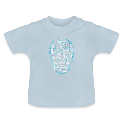electric skull tshirt ✅ - Baby T-Shirt