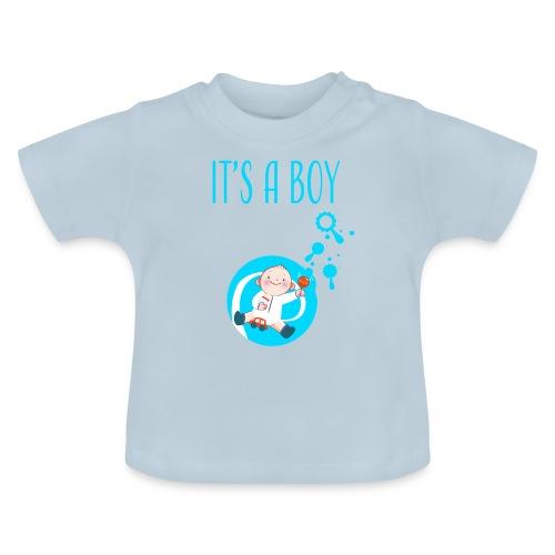 It's a Boy Auto. Witzige süße Umstandsmode T-Shirt - Baby T-Shirt