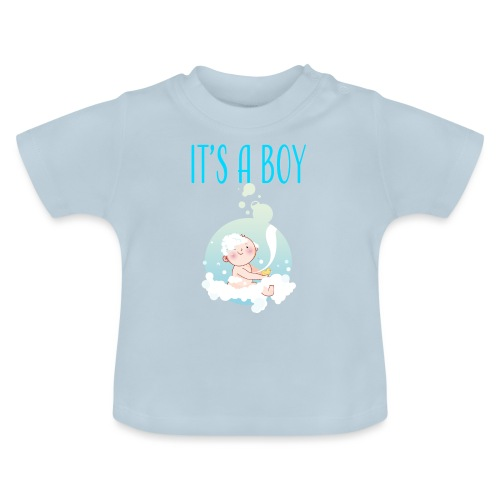 It's a Boy Badewanne. Witzige Umstandsmode T-Shirt - Baby T-Shirt